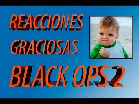 REACCIONES GRACIOSAS #1 - BLACK OPS 2