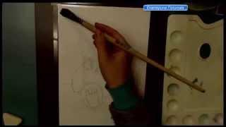 Как нарисовать мишку Тедди(http://uchurisovat.ru рисуем с Екатериной Голиковой плюшевый мишка акварель., 2015-04-24T20:13:26.000Z)