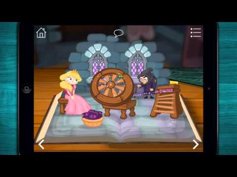 ♣ Grimm's Sleeping Beauty - Storybook & Reading & Good Night App for Kids - iPad/Android