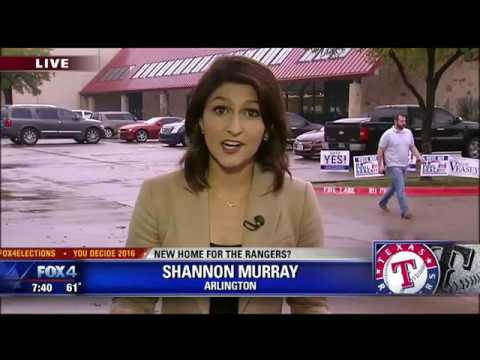 Arlington voters decide on new Rangers stadium