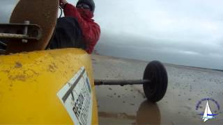 Char à voile à Portbail - EVCI