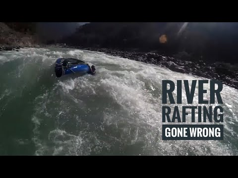 Almost Died | River rafting gone wrong | Day 2 | Shivpuri river rafting | rishikesh |