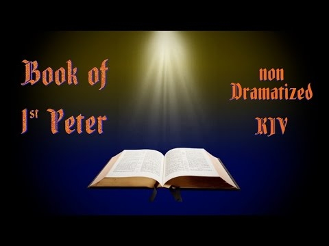 1 Peter KJV Audio Bible with Text