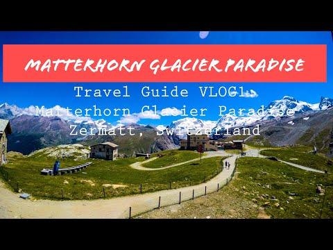 Matterhorn Glacier Paradise - Zermatt, Switzerland || Travel Guide VLOG 1