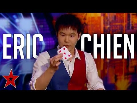 ERIC CHIEN! The GREATEST Magician Audition EVER On America's Got Talent 2019? | Got Talent