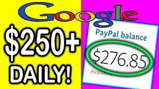 How To EARN $250+ GOOGLE Money DAILY! (BRAND NEW WAY TO MAKE MONEY ONLINE!)