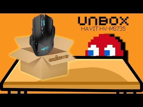 Hardware Unboxing: Havit HV-MS735 MMO Gaming Mouse