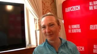 Eva Vrabcová po půlmaratonu v Praze