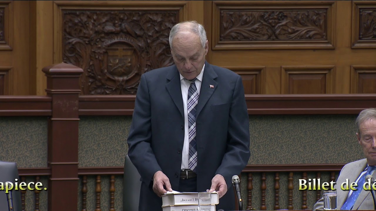 Pettapiece speaks on his motion regarding Hillside Manor and long-term care beds