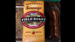 Burmese Tofu & Field Roast Apple & Maple Breakfast Sausage