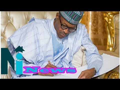 Buhari signs 3 bills into law