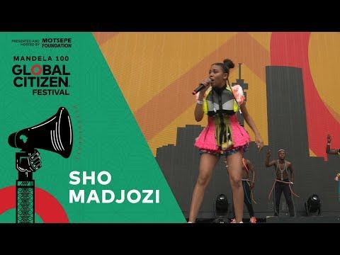 "Sho Madjozi Performs ""Kona"" | Global Citizen Festival: Mandela 100"