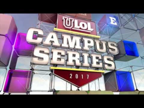 University of Texas vs University of North Carolina - Game 1 - uLoL Campus Series 2017