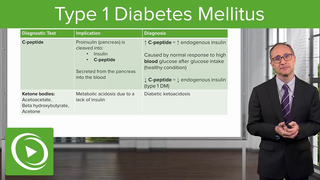 Type 1 Diabetes Mellitus (DM) – Endocrinology | Lecturio
