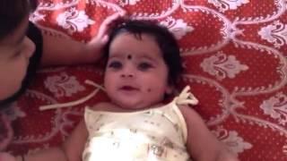 Disha playing with little Lasya Thumbnail
