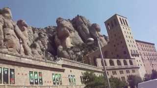 Монастырь Монсеррат, Испания(Montserrat)(Путешествие в монастырь Монсеррат летом 2013 года., 2014-01-08T18:39:21.000Z)