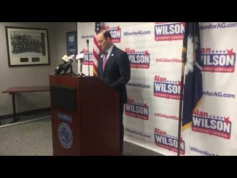 SC Attorney General Alan Wilson kicks off 2018 reelection campaign