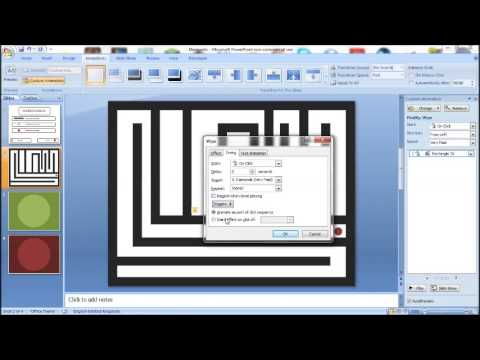 PowerPoint Tutorial How to make a Maze Game - YouTube