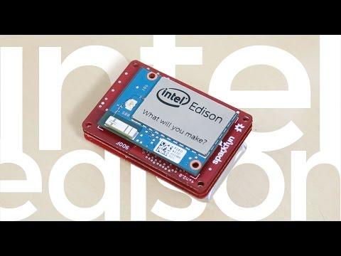 Intel Edison and SparkFun Blocks