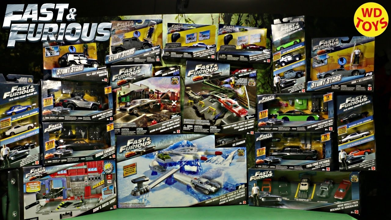 New Fast Amp Furious 8 Quot Vehicles Amp Playsets Quot Toys By Mattel