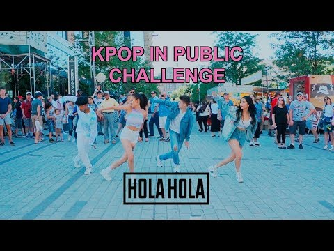 [EAST2WEST] Dancing Kpop in Public Challenge: KARD - Hola Hola