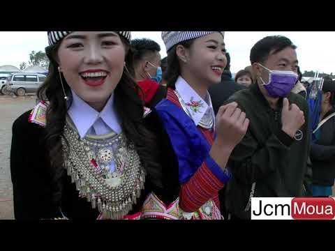 Beautiful Hmong Women At Phonsavon Laos 2018