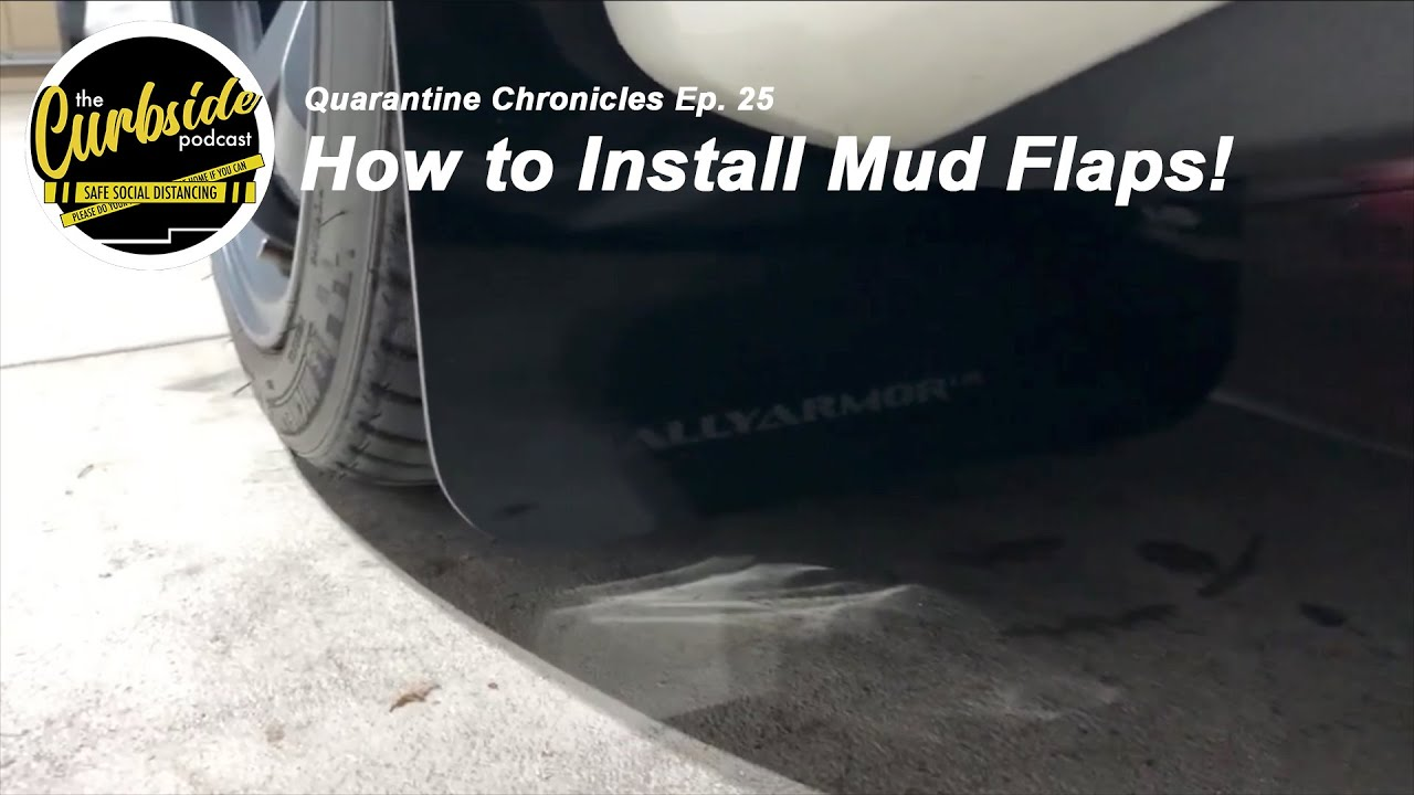 How to Install RallyArmor Mud Flaps on an Evo X! - Quarantine Chronicles Ep. 25