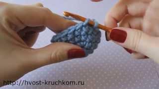 Уроки вязания крючком. Урок №9 - незаметные убавки