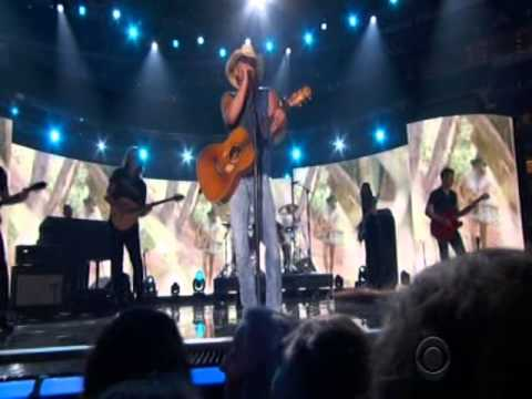 50th ACM Awards Performance By Kenny Chesney