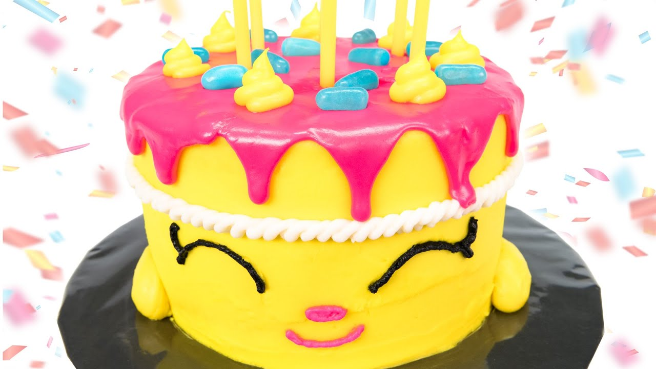 shopkins cake  how to make shopkins  u0026quot wishes u0026quot  birthday cake