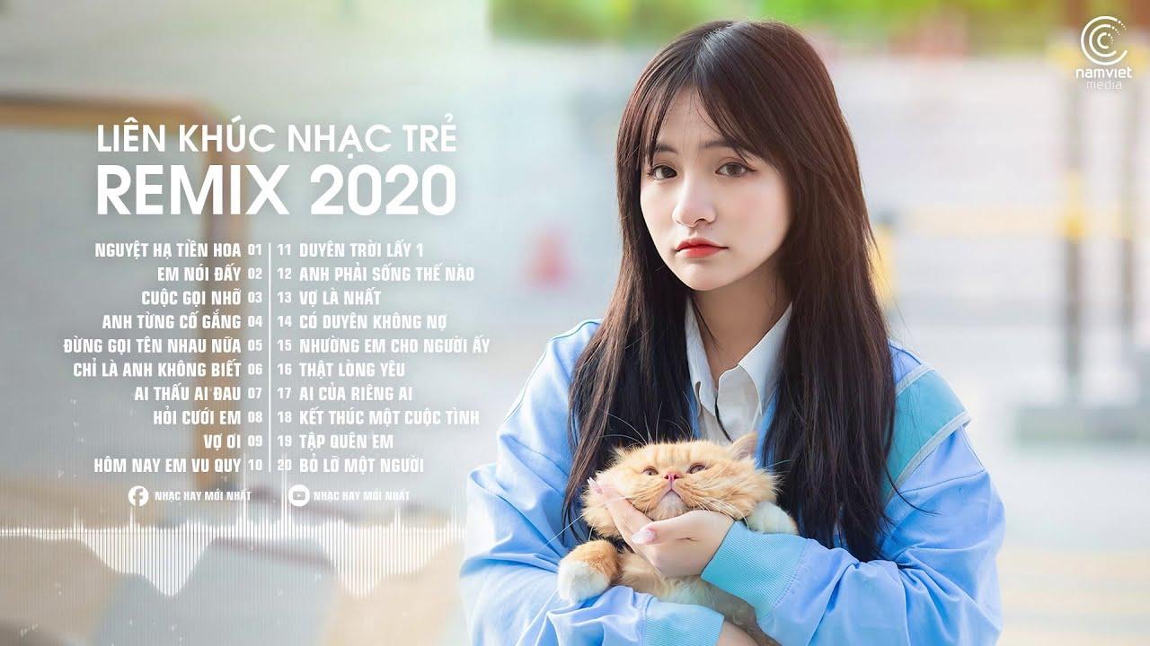 Nhạc Trẻ Remix 2021 Hay Nhất Hiện Nay 🎧 Nguyệt Hạ Tiền Hoa Remix, Cuộc Gọi Nhỡ Remix | Nonstop 2020