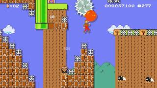 Super Mario Maker - [SWW] S-2 Through Thick and Thin