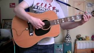 "Christy Moore: ""No Time For Love"" rehearsal version 2006 (acoustic guitar cover)"