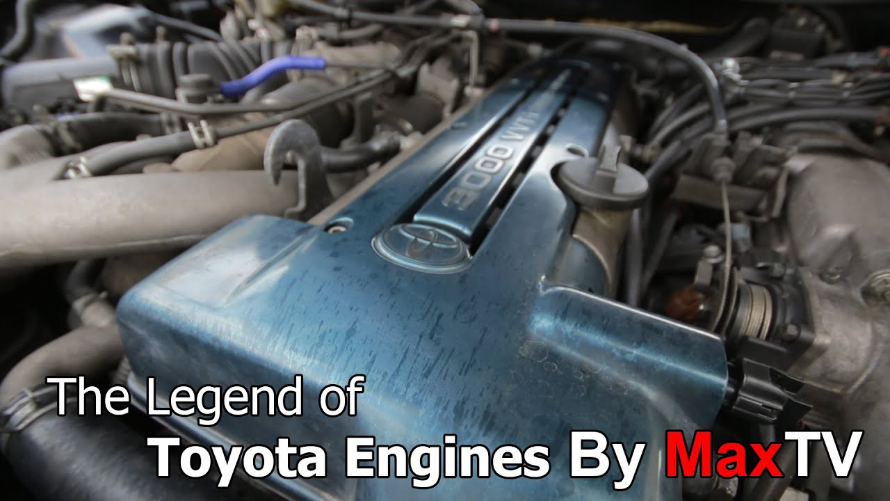 The Legend Toyota Engines By MaxTV