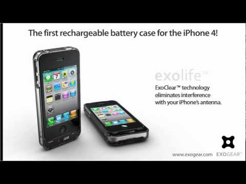 IPhone 4 Battery Case Exolife By Exogear