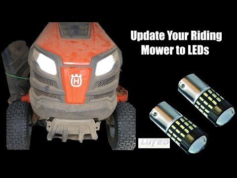 how to change tire on husqvarna riding mower