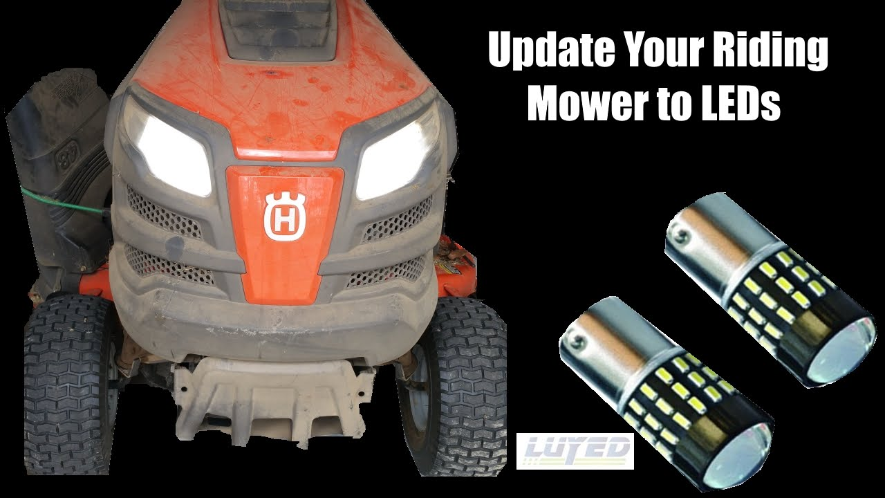 maxresdefault update your riding mower to led lights luyed youtube Older Craftsman Riding Mowers at reclaimingppi.co