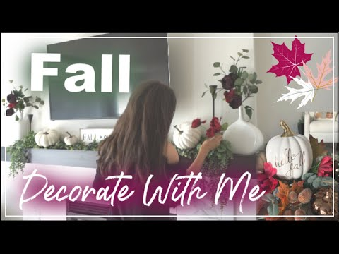 Fall Decorate With Me 2019 | Fall Living Room Makeover | Momma From Scratch