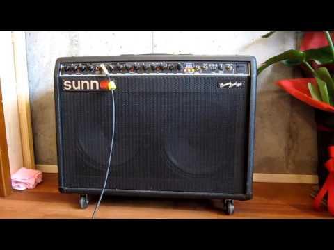 Sunn Amp Concert Lead Red Knob Switch