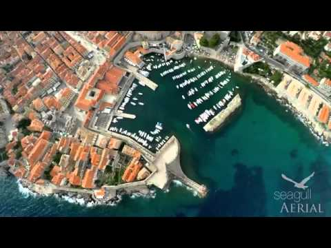 Dalmatian Coast with a Drone