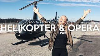 vlogg: HELIKOPTER OCH OPERA | Min bucket list 2017
