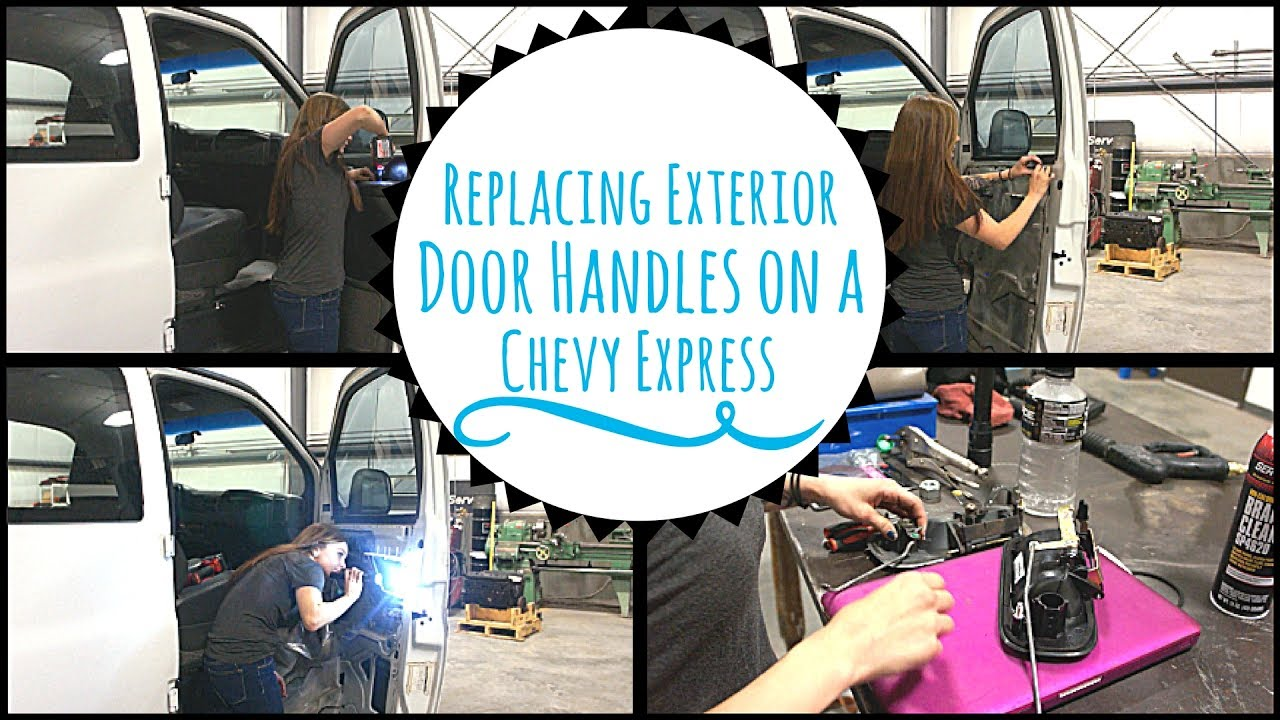 medium resolution of chevy express exterior door handles
