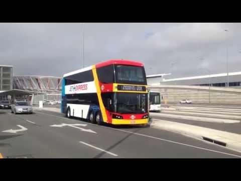 "1790 ""Jet Express"" CDi departs Adelaide Airport"