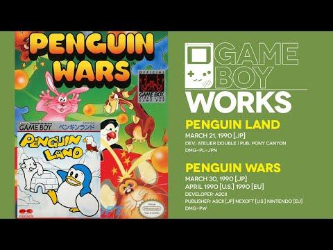 Game Boy World #036: Penguin Land [Pony Canyon, 1990] & Penguin Wars [ASCII/Nexoft, 1990]