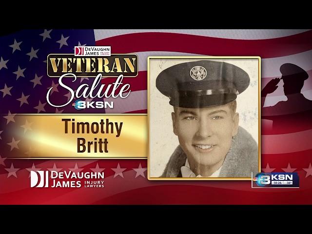 Veteran Salute: Timothy Britt