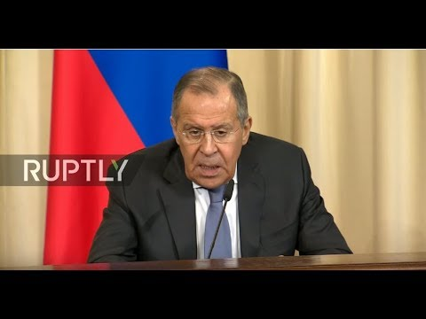 LIVE: Lavrov holds joint press conference with Belgian counterpart in Moscow