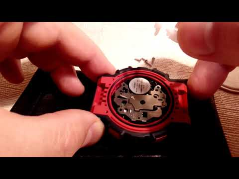 Замена батарейки G-SHOCK GA-100 / G-SHOCK GA-100 battery replacement