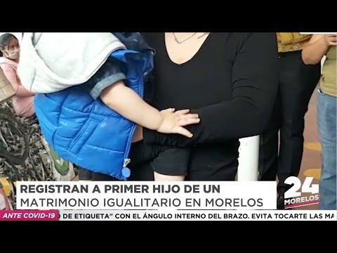 REGISTRAN A PRIMER HIJO DE UNA PAREJA HOMOPARENTAL EN MORELOS