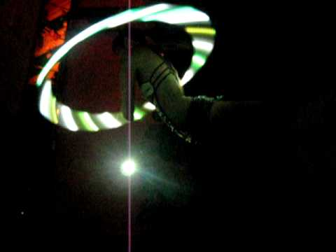 IOActive Freakshow Party- Hula Hooping GoGo Girl Part Three!