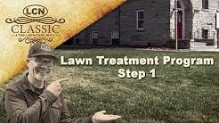 Lawn Treatment Program Step 1 - Project Lawn 2013